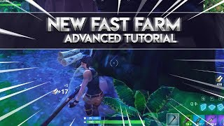 Fortnite: How To Fast Farm Without Wave Emote (Advanced Tutorial)