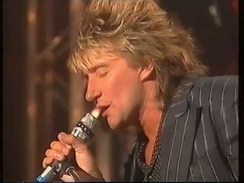 Rod Stewart - Lost in you. Rare performance
