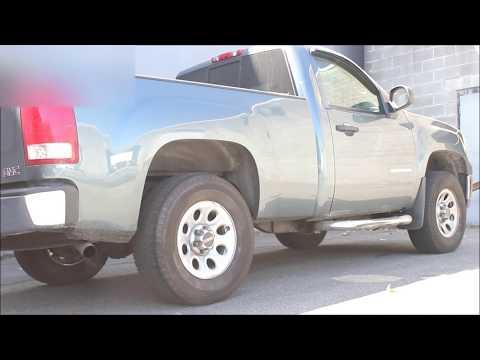 2007 Sierra 4.3L V6 Exhaust (Flowmaster 40 Series Muffler)