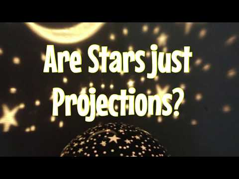 Are Stars Projections on a Flat Earth