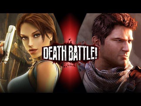 Lara Croft VS Nathan Drake | DEATH BATTLE! (Tomb Raider VS Uncharted)