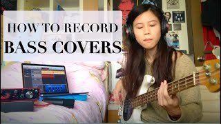 The BEST way to record BASS covers for YouTube (in my opinion)