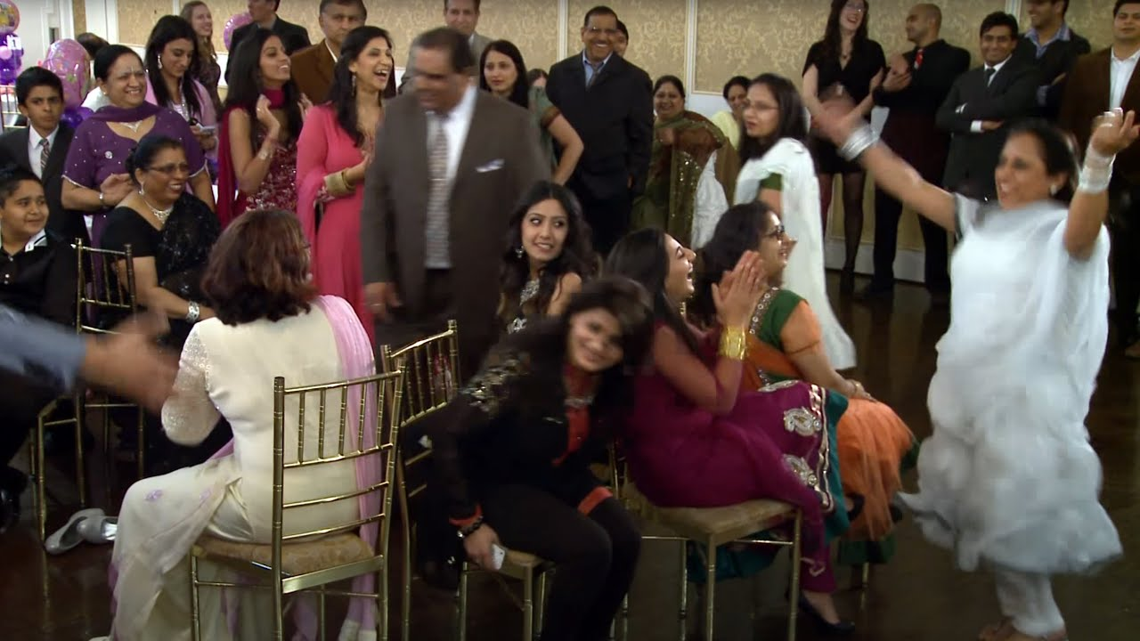 Ladies Musical Chairs at An Indian First Birthday Ceremony at Verdi