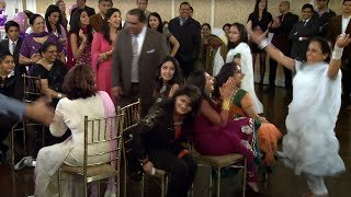 Ladies Musical Chairs at An Indian First Birthday Ceremony at Verdi Banquet Hall Mississauga Toronto