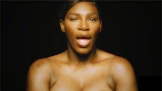 """Serena Williams """"I Touch Myself"""" #ITouchMyselfProject #DoItForYourself セリーナウィリアムズ 検索動画 26"""