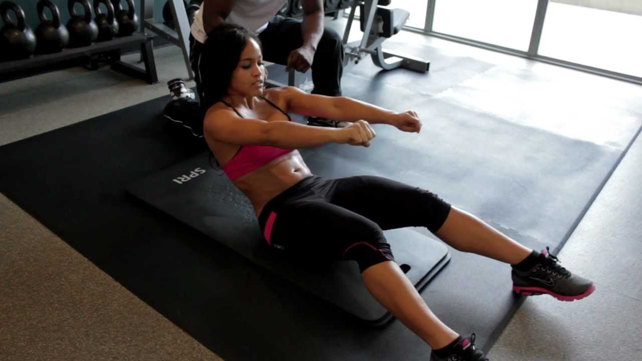 Workout With Rosa Acosta Abs Part 4 YouTube