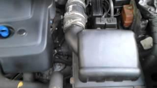 Bruit importabt dans boitier filtre à air