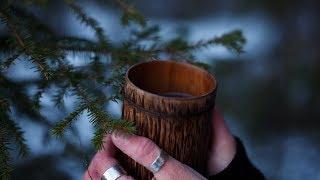 PINE NEEDLE & CHAGA TEA - How to make healthy forest tea