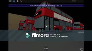 ROBLOX Rainham(RM) Bus Garage Tour. Stagecoach London