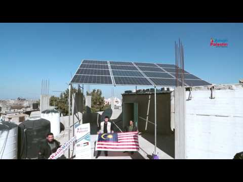 Solar Power System Project in Gaza Strip