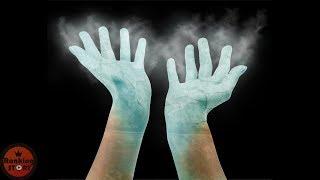 액체질소에 손을 넣으면 어떻게 될까?