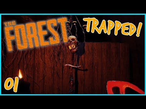 """The Forest - """"TRAPPED IN THE CAVES!"""" - Ep 1 (Normal Mode Let's Play)"""