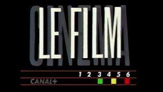 CANAL PLUS Jingle CINEMA LE JOURNAL+LE FILM