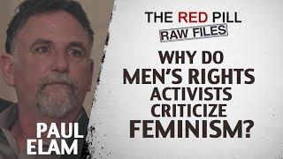Why Do Men's Rights Activists Criticize Feminism? | Paul Elam #RPRF