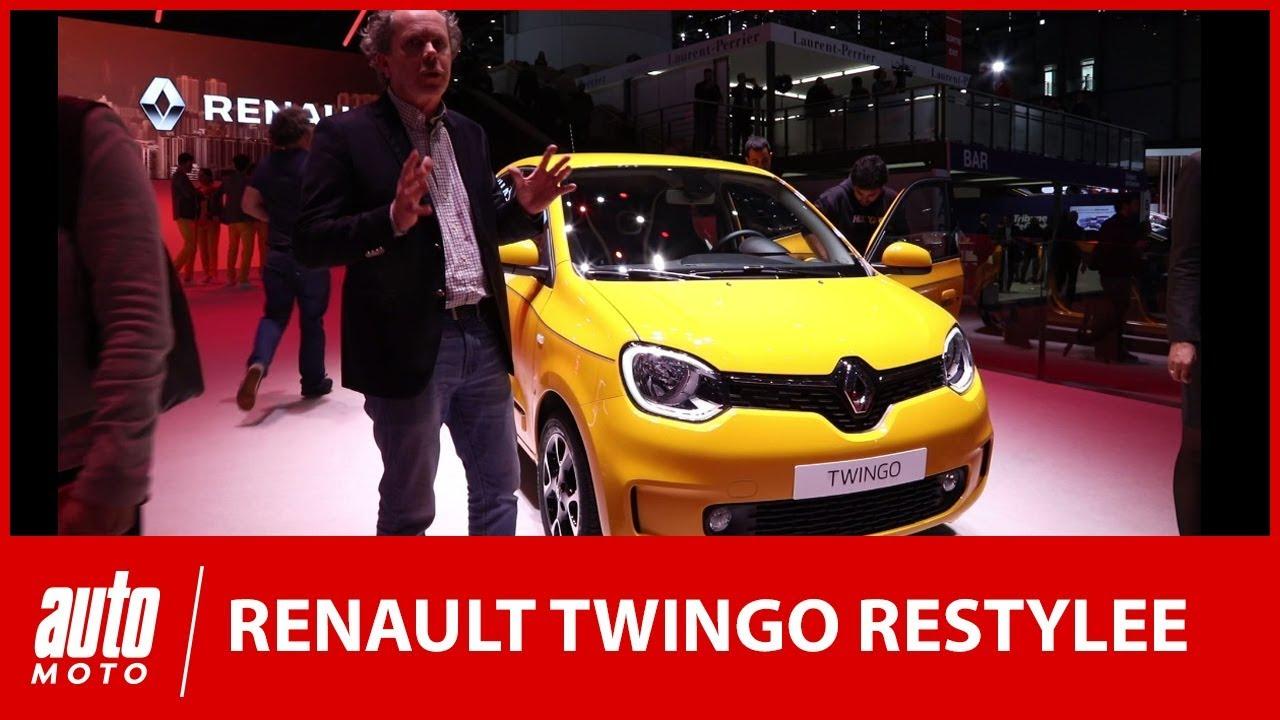 Renault Twingo restylée : qu'est-ce qui change au salon de Genève ?