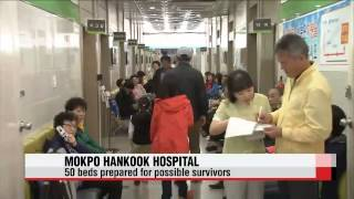 Situation at Mokpo Hankook Hospital