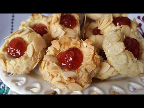 almond-and-cherry-biscuits---حلوة-باللوز-و-حب-الملوك---المشوك---biscuits-aux-amandes-et-cerises