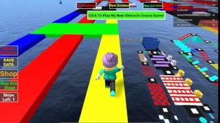 ROBLOX Mega Fun Obby Stage 112 Walkthrough