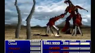 Final Fantasy VII Ruby Weapon Dead Cloud Solo!