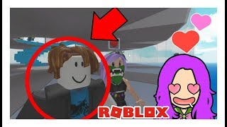 I found a bacon hair boyfriend in NATURAL DISASTER! NATURAL DISASTER IN ROBLOX!!