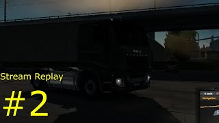 Trucking away in Euro Truck Simulator 2!