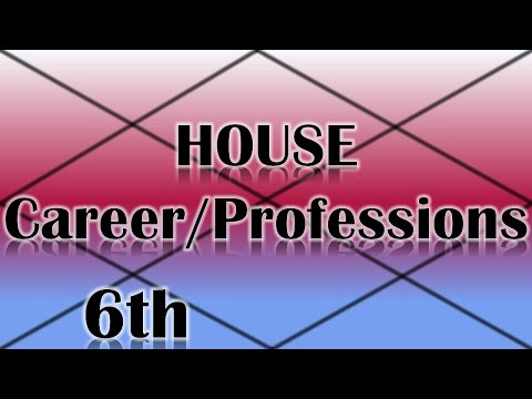 Careers/Professions Ruled by the 6th House (Vedic Astrology