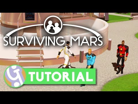 🚀 Getting Your First Humans | Surviving Mars Tutorial #04