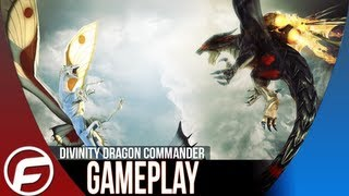 Divinity Dragon Commander Multiplayer Match Gameplay Part 1  [PC]