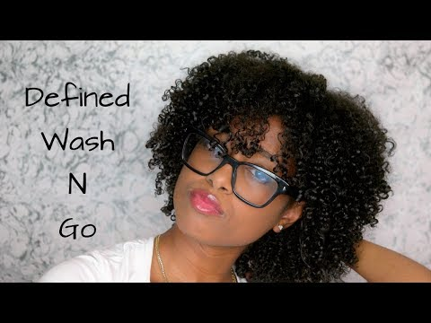 Dry Wash n Go |  Defined Natural Hair