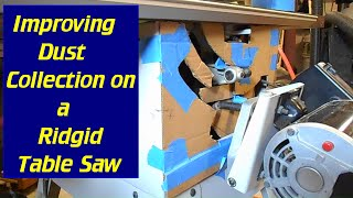 Improve Your Table Saw Dust Collection