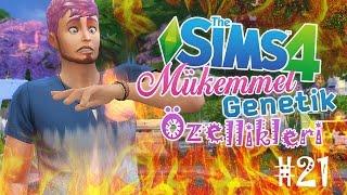 YANGIN VAR?! - The Sims 4 Mükemmel Genetik Özellikleri - #21