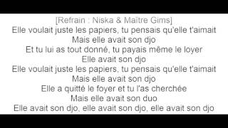 Niska - Elle avait son Djo ft. Maître Gims (Official Lyrics)