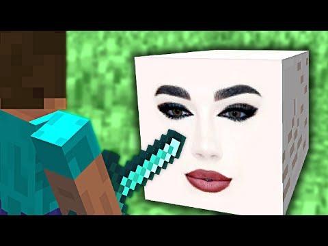 I killed James Charles in Minecraft!!! thumbnail