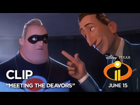 """Incredibles 2 Clip - """"Meeting The Deavors"""""""