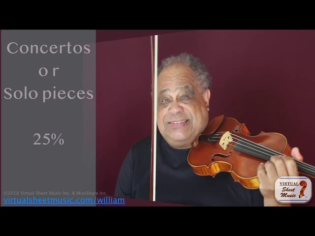 Practicing with Percentages - Violin Lesson