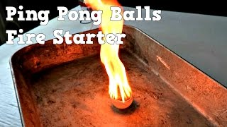 Ping Pong Balls Are Incredibly Flammable thumbnail
