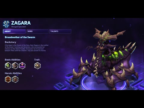 Heroes of the Storm - Zagara Guide