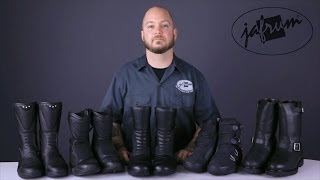 Touring Motorcycle Boot Buying Guide From Jafrum.com