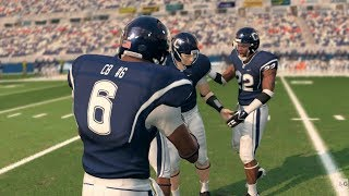 NCAA Football 14 - PS3 Gameplay (1080p60fps)