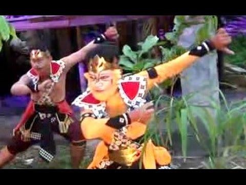 RAMAYANA Alam 1 - Eco Theatre RAMLEELA Hanuman The Messenger - Sendratari Tari Klasik Jawa [HD]