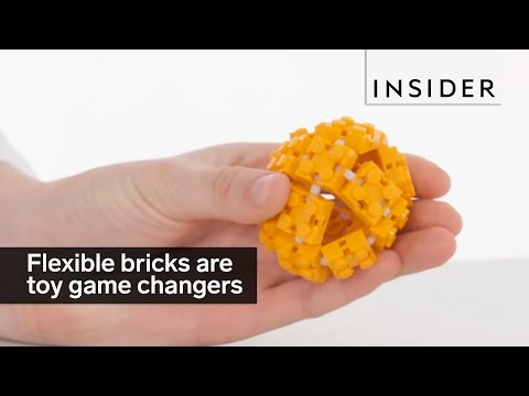 Flexible bricks are a game changer for construction toys