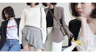 (eng)Spring Lookbook & Haul / 나의 소박하고 심심한 봄옷들