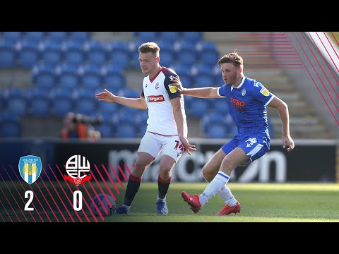Colchester Bolton Goals And Highlights
