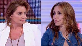 El enojo de Nancy Pazos con Analía Franchín cuando le preguntó por un romance con Menem
