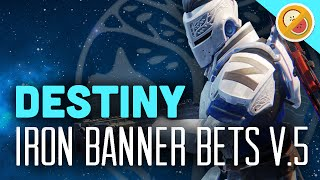 Destiny Iron Banner Bets #5 - The Dream Team (The Taken King) Funny Gaming Moments