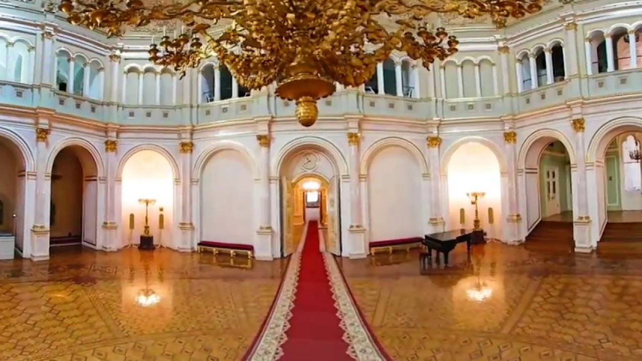 360 Vr Tour Moscow Grand Kremlin Palace Residence Of