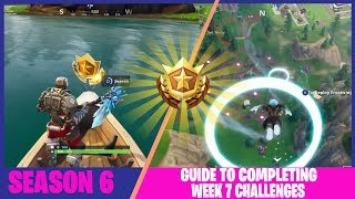 FORTNITE SEASON 6: WEEK 7 CHALLENGES GUIDE AND SECRET BATTLE STAR LOCATION