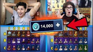 1VS1 BATTAGLIA NAVALE su FORTNITE! CHI PERDE SHOPPA all'altro 14.000 V-BUCKS! w/ZaneSG