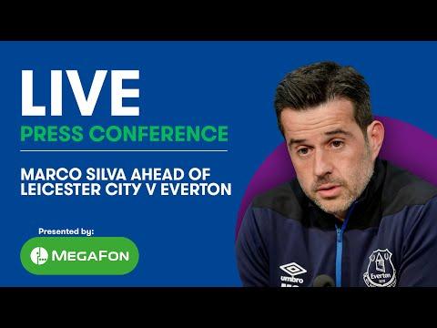 LIVE! MARCO SILVA'S PRESS CONFERENCE: EVERTON V LEICESTER CITY