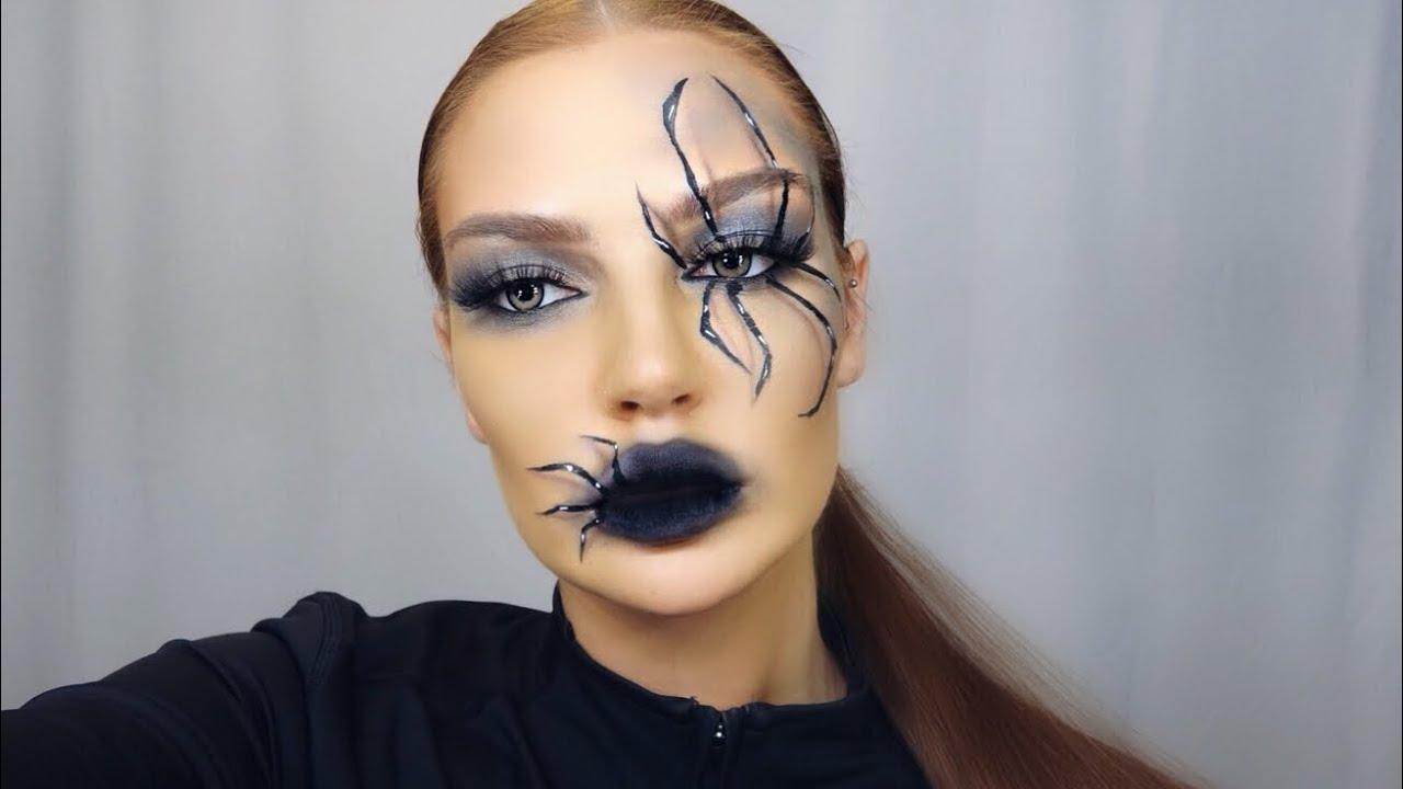 als spinne schminken